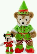 Duffy Disney Bear Elf Costume with Mickey Elf Toy Plush fits any 17 inch bear..