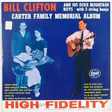 BILL CLIFTON & DIXIE MOUNTAIN BOYS: Carter Family Memorial STARDAY USA Orig LP