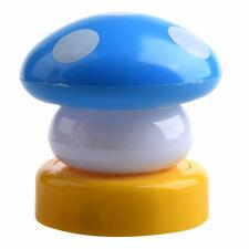 B3 LED Mushroom Night Lights, Blue