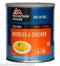 1 - Can - Noodles & Chicken - Mountain House Freeze Dried Emergency Food Supply