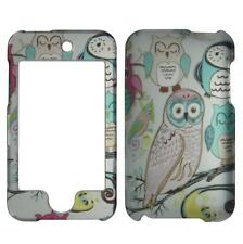 For Apple Ipod Touch 2 / 3 2nd 3rd Pnk Blue Owl Plane Case Hard Cover