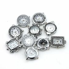 10PCS Lots Assorted Mixed Styles Quartz Watch Faces Jewelry Findings For Beading