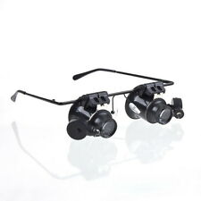 20X Magnifier Magnifying Glasses Loupe Lens Jeweler Watch Repair LED Light#FO4