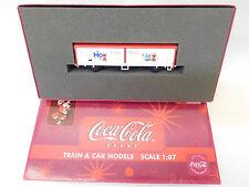 MES-54088 Electrotren LC 21042 H0 Güterwagen DB Coca Cola K-NEM