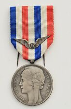 FRANCE: FRENCH AERONAUTICAL MEDAL OF HONNOR, SILVER