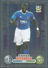TOPPS MATCH ATTAX 2007-08 TRADING CARD-PORTSMOUTH-STAR PLAYER-SOL CAMPBELL-FOIL