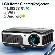 LED LCD Wireless Projectors Android Wifi Home Theater Moive Game USB TV HDMI VGA
