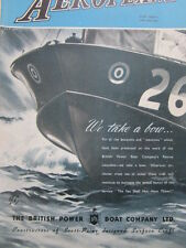 11/1945 PUB BPB BRITISH POWER BOAT CRAFT RESCUE LAUNCHES ORIGINAL AD