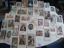 Lot de 61 anciennes images pieuses année 30    pious images1930