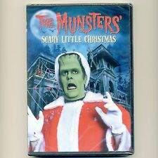 The Munsters' Scary Little Christmas TV movie, new DVD Herman Lily Eddie Grandpa