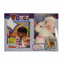Disney Junior Doc Mcstuffins - Docs Care Pack (Plush + Book + DVD) Bundle Kid