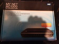 WD My Net AC1300 HD Dual Band Router Wireless AC WiFi Router Accelerate HD