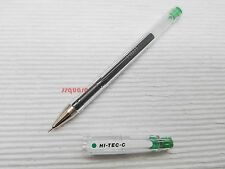 Pilot Hi-Tec-C G-Tec-C 0.3mm Ultra Fine Roller Rollerball Gel Ink Pen, Green