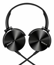 Sony MDR-XB450AP On-Ear Extraa Bass Headphone (Black).+3 Months Seller Warranty