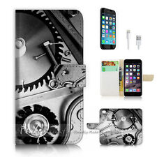 iPhone 6 6S (4.7') Flip Wallet Case Cover P2390 Gear and Tool