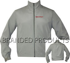 Prada Men's Gore-Tex Grey Designer Padded Harrington Jacket Coat SGV 500 Medium