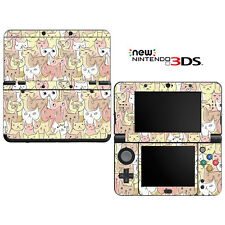 Vinyl Skin Decal Cover for Nintendo New 3DS - Kitty Cat Pattern