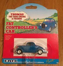 """THOMAS & FRIENDS - """"FAT CONTROLLER CAR"""" ERTL - DIE-CAST - RARE BNIB"""