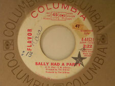 Flavor 45 SALLY HAD A PARTY / SHOP AROUND ~ Columbia VG-