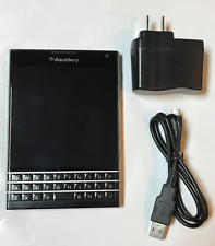 BlackBerry Passport - 32GB SQW100-1 GSM Unlocked QWERTY Smartphone - Black