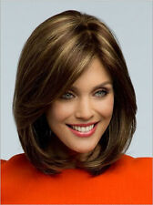 Causal Sexy Vogue Fashion Ladies Short Straight Wig Brown Blonde Mix Full Hair