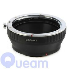 Canon EOS EF Mount Lens to Nikon 1 Camera Adapter Ring For AW1 S1 J3 J2 J1 V2 V1