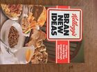 RARE Vintage 1985 Kellogg's bran new ideas COOK BOOK cookery cooking recipes