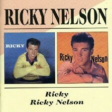 Ricky Nelson Ricky/Ricky Nelson 2on1 CD NEW SEALED Rick Rock & Roll