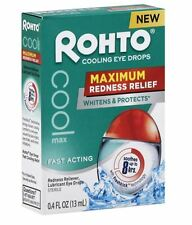 Rhoto Cooling Eye Drops, 0.4 oz (Pack of 2)