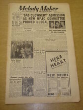 MELODY MAKER 1952 SEPTEMBER 27 BBC SHOW BAND DAVE BARBOUR JIMMY WATSON   +