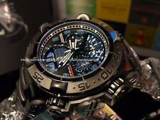 "Invicta Jason Taylor SAN 5 ""Twisted Metal"" Combat Black Teal Blue accents Watch"
