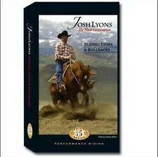 Sliding Stops & Rollbacks by Josh Lyons - DVD - Horse Training