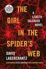 The Girl in the Spider's Web by David Lagercrantz (2015, Paperback, Large Type)