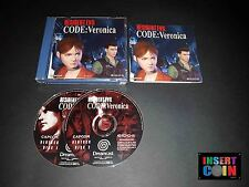 JUEGO DREAMCAST RESIDENT EVIL CODE VERONICA  (PAL ALEMAN!) GERMAN VERSION.