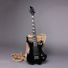 Guitar High Class Pickups IRIN Flame Style Electric Guitar w/ Cable Strap Black
