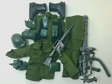 Military Uniform Weapons Accessories for 1/6 Scale Action Figure GI Joe Lot #232