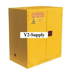 NEW! Flammable Cabinet With Manual Close Double Door 120 Gallon!!