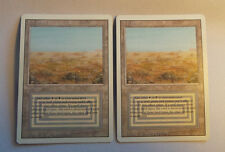Set: 2x Scrubland NM (Near Mint) Revised, 3rd Ed. Magic ENGLISH - Free Priority