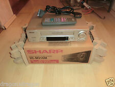 Sharp VC-M31GM VHS-Videorecorder in OVP, inkl. Fernbedienung, 2J. Garantie