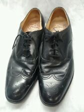 Nice Church 's custom grade black oxford lace shoes made in England