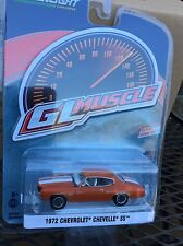 Greenlight MUSCLE  Series 18 1972  Chevrolet Chevelle SS.  orange flame