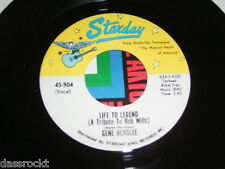 """7"""" - Gene Henslee / Life to Legend & Things i want to be - US Starday # 3303"""
