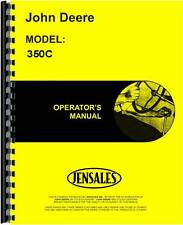 John Deere 350C Crawler Operators Manual