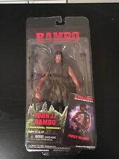 "NECA John J. Rambo Survival Version First Blood 7"" Figure Sylvester Stallone # 2"