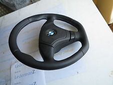 BMW E31 E36 E34 Z3 Thick soft M Tech look Steering wheel flat bottom Euro Sports