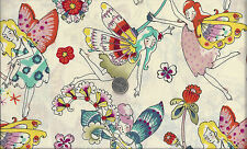 Flower Fairies I Spy Fairy Fabric Everday Eden Bright A Henry By the Fat Quarter