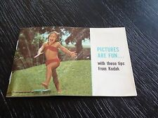 Vintage Pictures are Fun with these tips from Kodak Booklet