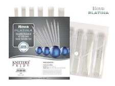 "Knitter's Pride ::Nova Platina Double Pointed 6"" Sock Needle Set:: 0-3 US"