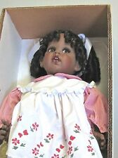 African American Doll KAYLA  by Doll Designer FayZah Spanos 1994 Exc. Beautiful