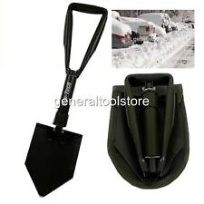 FOLDING SPADE SHOVEL SNOW CRAVAN CAMPING SURVIVAL GARDEN BEACH SAND CASTLES!